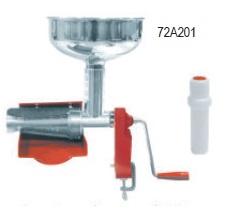 Μηχανή αλέσεως ντομάτας  Ιταλίας  χειροκίνητη με ανοξείδωτο δοχείο και πλαστικό συλλέκτη παραγωγη 150kg/h