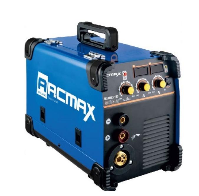 Ηλεκτροσυγκόλληση σύρματος ηλεκτροδίου Arc Max MaxMig 195