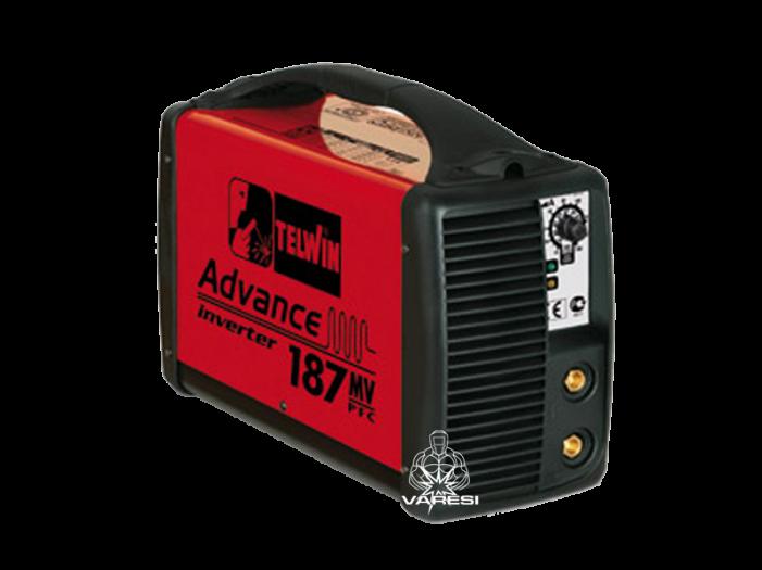 Ηλεκτροκόλληση Inverter Telwin ADVANCE 187 MV/PFC μονοφασική 150A