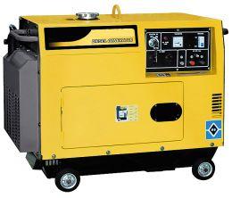 Hλεκτρογεννήτρια πετρελαίου brecsia 10Hp 380V κλειστού τύπου με μίζα τριφασική 6.8kva