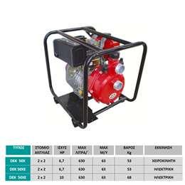 Αντλητικό συγκρότημα πετρελαίου Υψηλής πίεσης DEK 50XE