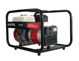 MASTER - HG 4200 Μονοφασική Γεννήτρια με Κινητήρα HONDA 4.2kVA