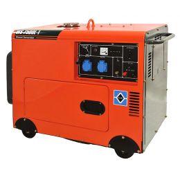 Ηλεκτρογεννήτρια Πετρελαίου KRAFT WS 7500L-1 5000Watt (63770)