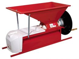 Σπαστήρας χειροκίνητος με διαχωριστήρα - κυλίνδρους - αναδευτήρα - κοχλία 90x50 1500kg/hour OMAC ARES15X made in italy