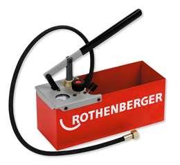 ROTHENBERGER TP 25 6.0250 Πρέσσα ελέγχου έγκατάστασης