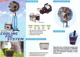 Φορητό σύστημα υδρονέφωσης farmate 80bar 1hp