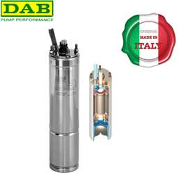 "Hλεκτροκινητήρας αντλίας γεωτρήσεων υποβρύχιος 4"" 2 HP 220V TESLA"
