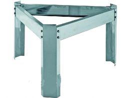 SANSONE 550mm -  Μεταλλική βάση δοχείων inox