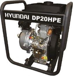 Αντλία Επιφανείας Πετρελαιοκίνητη Υψηλής Πίεσης DP20HPE 7Hp Hyundai