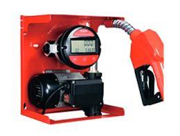 Κιτ μετάγγισης πετρελαίου με ηλεκτρονικό μετρητή 0.50hp 220V με αυτόματη μάνικα και λάστιχο 4 μέτρων