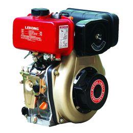 Κινητήρας πετρελαίου αερόψυκτος με μίζα LD186F 10HP ΜΙΖΑ/ΚΩΝΟΣ 23 mm για Σκαπτικά Ιταλίας