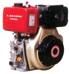 Κινητήρας πετρελαίου με σχοινί  LD178F 7HP κώνος 25.4mm