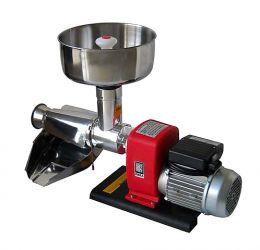 Ηλεκτρική μηχανή αλέσεως ντομάτας με INOX χωνί και συλλέκτη OMRA NL4 300kg/h 400watt made in italy