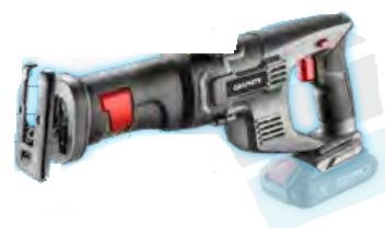 ΣΠΑΘΟΣΕΓΑ ENERGY+ 18V  LI-Ion graphite 58G017