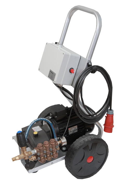 Υδροπλυστικό μηχάνημα υψηλής πίεσης με αντλία Hawk 200BAR 900lit/h 1450 στροφών made in italy