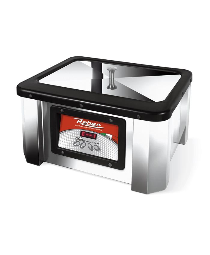 SOUS-VIDE Συσκευή-Μηχανή Μαγειρέματος REBER Gourmet 10Lt INOX