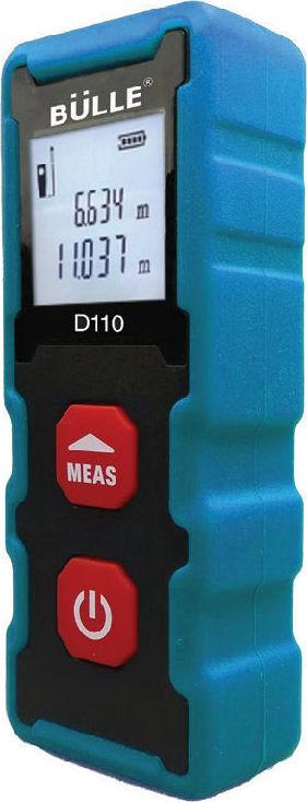 Μετρητής αποστάσεων Laser 20m BULLE D110