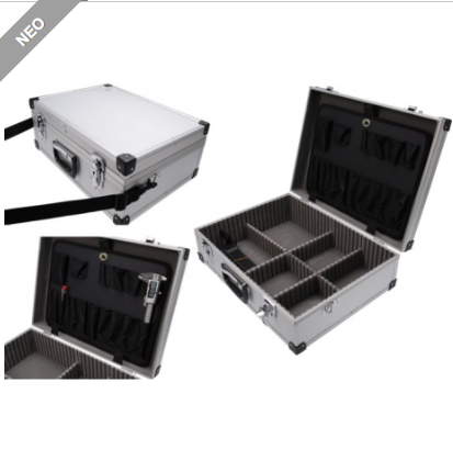 Βαλίτσα εργαλείων αλουμινίου 460 x 340 x 150 mm
