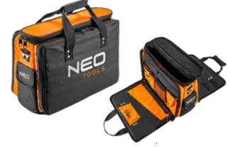 Τσάντα εργαλείων με αναδιπλούμενες πλευρές
