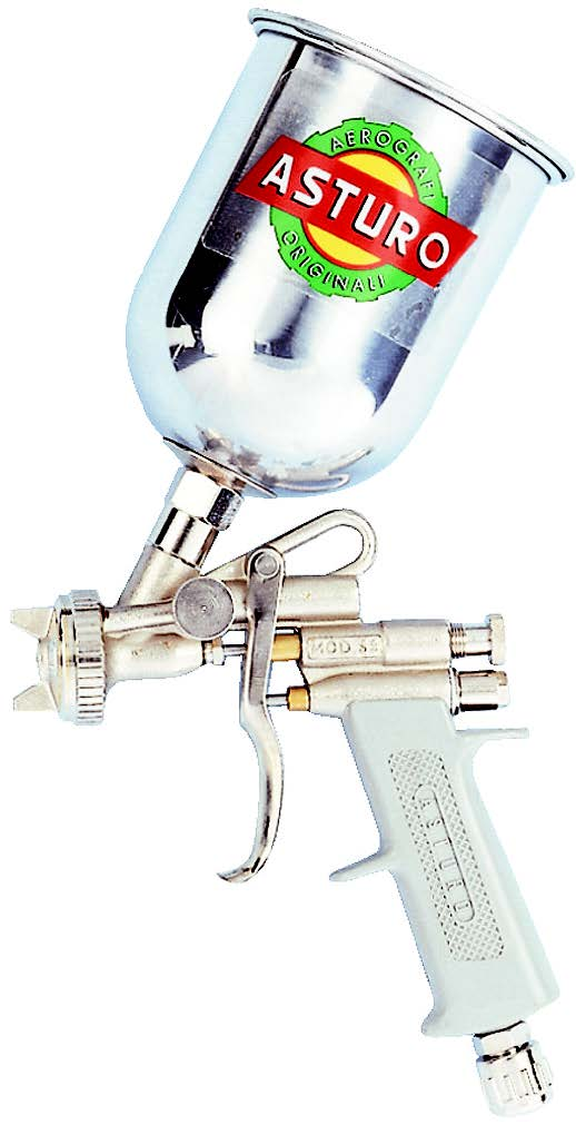 ASTURO Πιστόλι Βαφής E70 Άνω Δοχείο