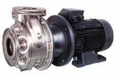 Αντλία επιφανείας inox φυγόκεντρη τύπου 65-40-160/3 , 4HP 380V με inox φρετωτή και άξονα