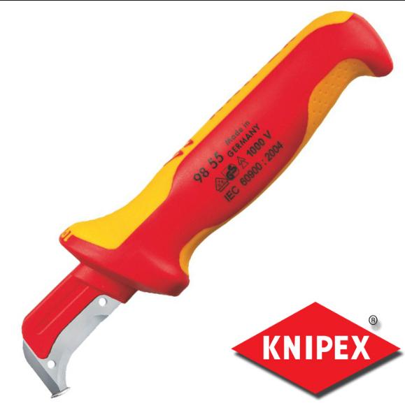 Απογυμνωτής μαχαίρι 1000V KNIPEX