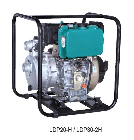 """Πετρελαιοαντλία αλουμινίου 10hp Ldp20e-2h 3"""" υψηλής πίεσης με μίζα και μπαταρία"""