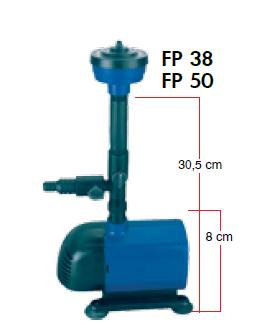 Αντλία συντριβανιών FP 38