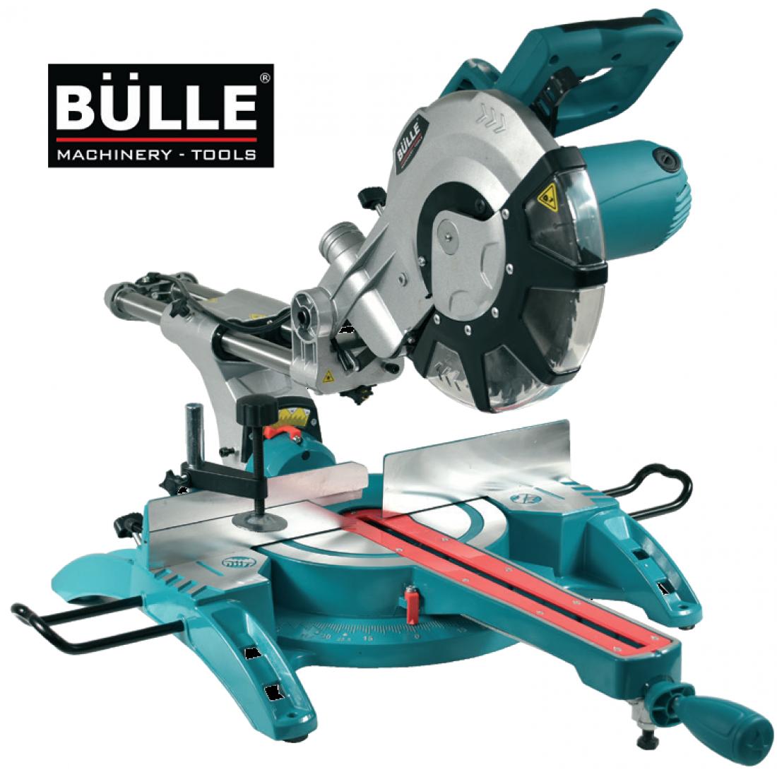 Φαλτσοπρίονο Bulle Radial 2100 Watt 255mm με λέϊζερ