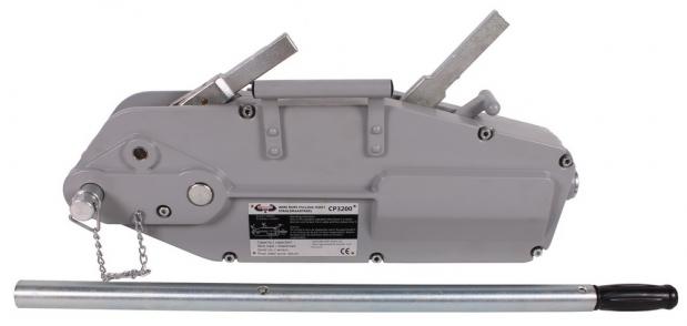 Χειροκίνητο βαρούλκο με άγκιστρο 3200kg 20m CP3200