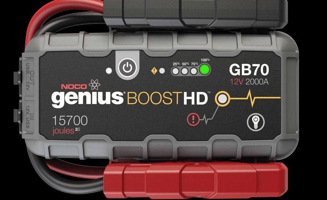 UltraSafe Εκκινητής Οχημάτων Μηχανημάτων NOCO genius Boost HD GB70 12V 2000A