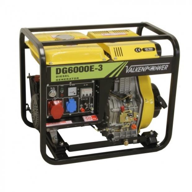 Γεννήτρια πετρελαίου 6KVA 400V 50Hz Valkenpower DG60003