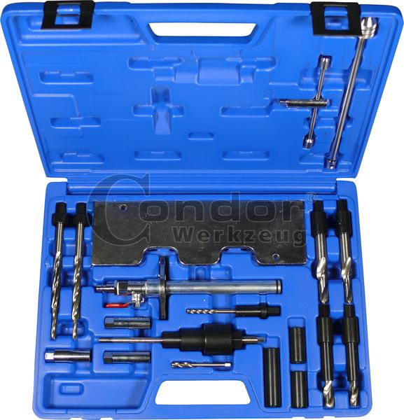 Σετ τρυπάνια εξαγωγής προθερμαντήρων (μπουζί), για  VW V6 TDI