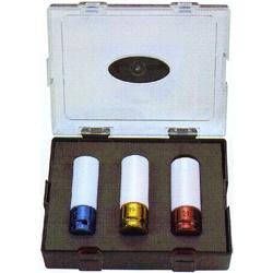 Κασετίνα Καρυδάκια Αέρος ½ 3 τεμ. 17, 19, 21 mm Force