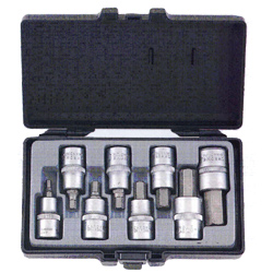 Κασετίνα Καρυδάκια Allen Μακριά ½ 8 τεμ. 5-17 mm Force