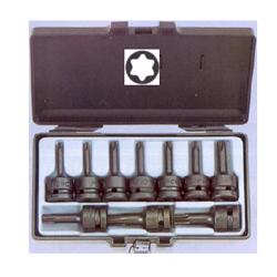Κασετίνα Καρυδάκια Torx ½ 10 τεμ. T20-T70 Force