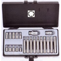 Κασετίνα Μύτες Torx 10mm 22τεμ. Τ10-Τ55 Force
