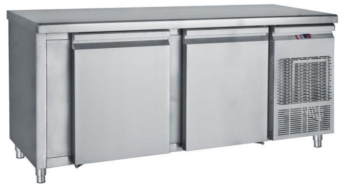 Ψυγείο Πάγκος Συντήρηση Με Μεγάλες Πόρτες Και 70cm Βάθος