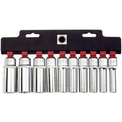 Μπλίστερ Σετ Πολύσφηνα Μακριά Spline ½ 10 τεμ. 10-24 mm Force