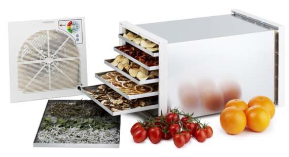Οικιακός-ερασιτεχνικός αποξηραντής φρούτων και λαχανικών Biosec De Luxe B6 εργοστασίου Tauro Ιταλίας