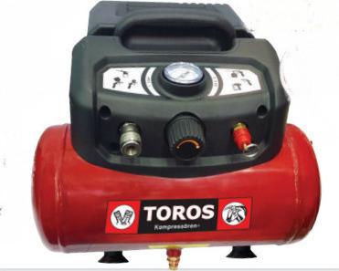 ΑΕΡΟΣΥΜΠΙΕΣΤΗΣ Toros OilFree 1.5hp/6lt