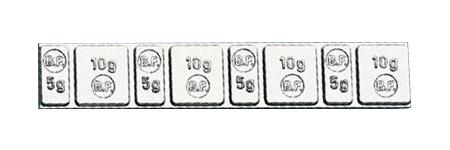 Αυτοκόλλητα Αντίβαρα Λεπτά 60 gr (100 τεμ)