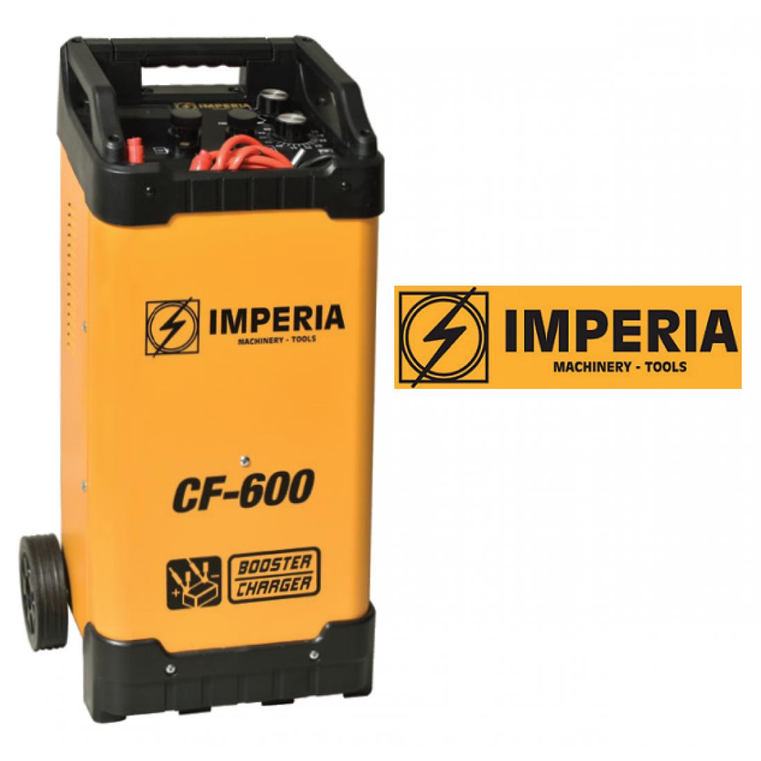 Φορτιστής - Εκκινητής για μπαταρίες Μολύβδου CF-600 IMPERIA