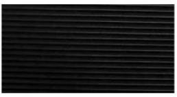 Δάπεδο με ρίγες μαύρο, ρολο 10m