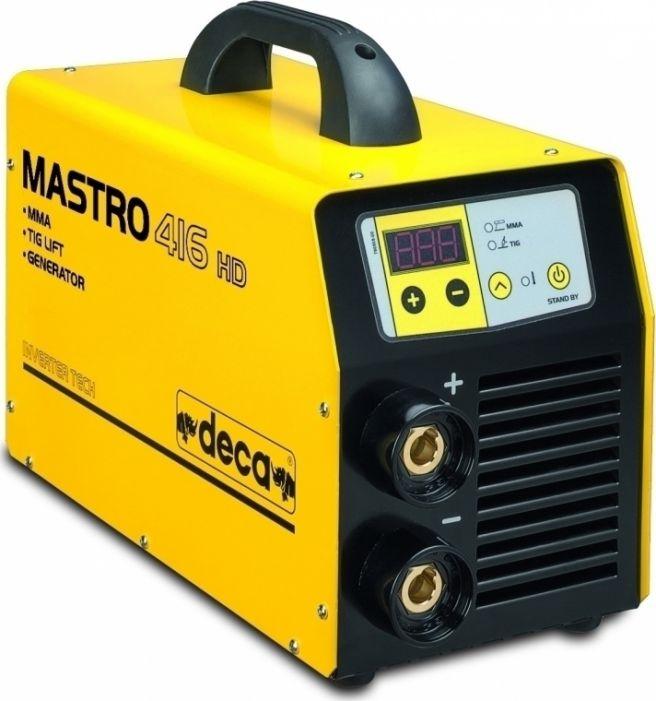 Ηλεκτροσυγκόλληση Inverter DECA MASTRO 416 HD GEN