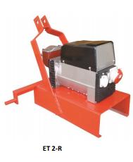 Γεννήτρια πετρελαίου 380 Volt 8,5 KVA AVR ±2% με μίζα - ET2 MBR - F460 - 12,0 hp