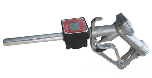 Μάνικα αυτόματη με ενσωματωμένο ηλεκτρονικό μετρητή αλουμινίου για πετρέλαιο 1