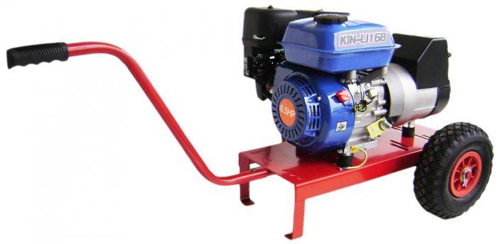 Γεννήτρια βενζίνης SINCRO 3 KVA μονοφασική με κινητήρα 168FB και μίζα