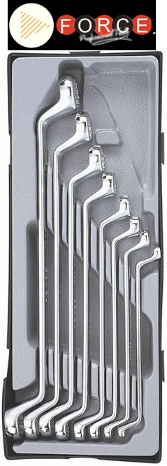 FORCE σετ πολύγωνα 8 τεμαχίων σε πλαστική κασετίνα. 5081-22