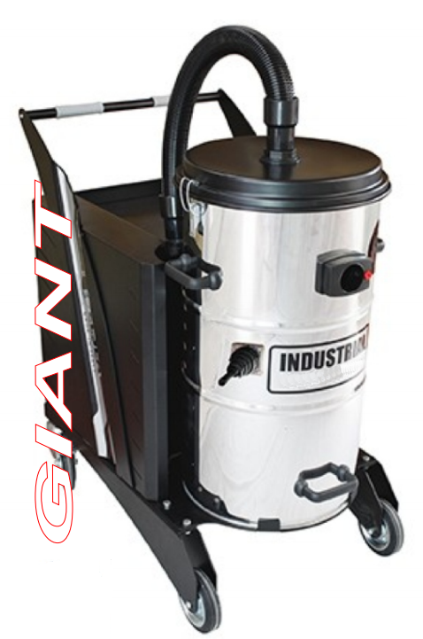 Σκούπα βιομηχανικού καθαρισμού GIANT manual 77lt
